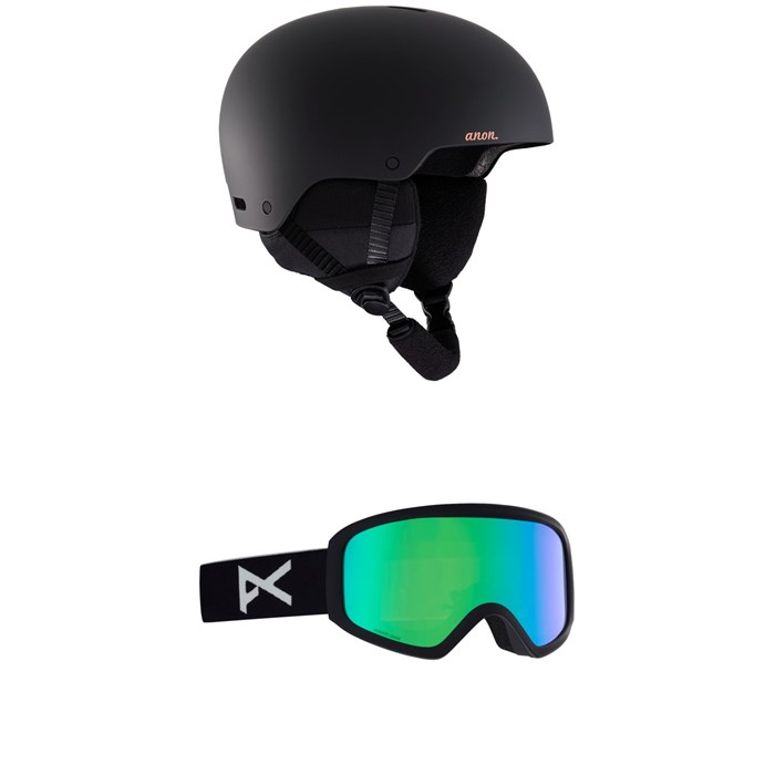 Anon - Greta 3 Helmet - Women's + Anon Insight Sonar Goggles - Women's