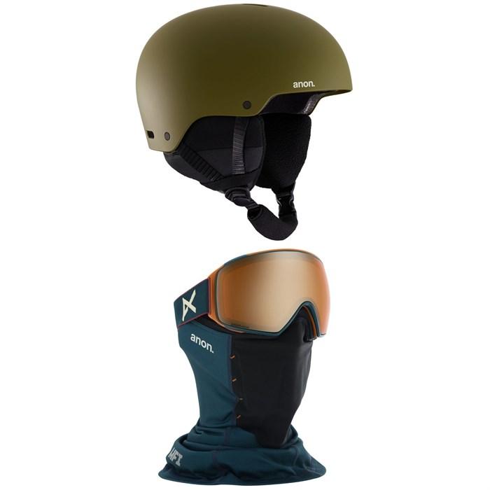 Anon - Raider 3 Helmet + Anon M4 Toric MFI Goggles