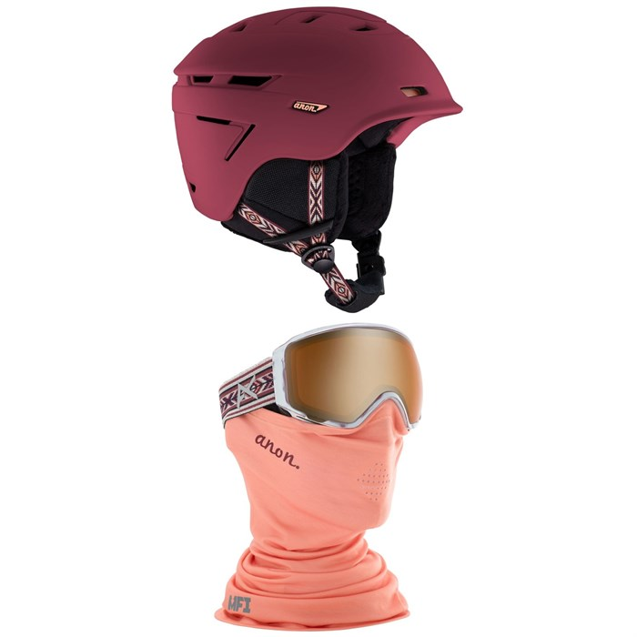Anon - Omega Helmet - Women's + Anon WM1 MFI Goggles - Women's