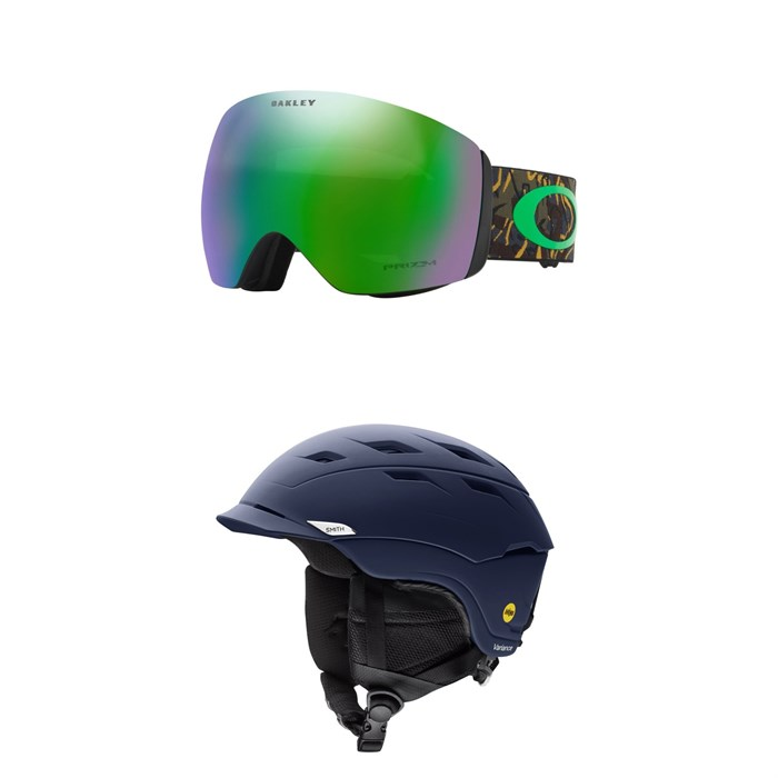 Oakley - Flight Deck Goggles + Smith Variance MIPS Helmet