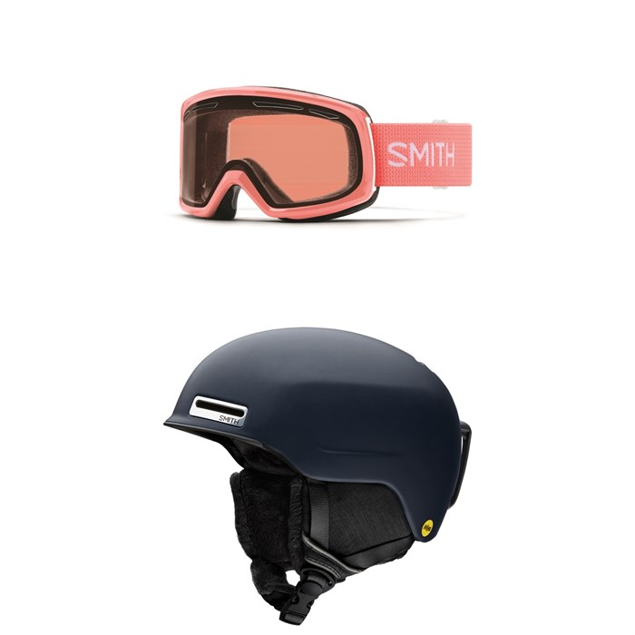 Smith - Drift Goggles - Women's + Smith Allure MIPS Helmet - Women's