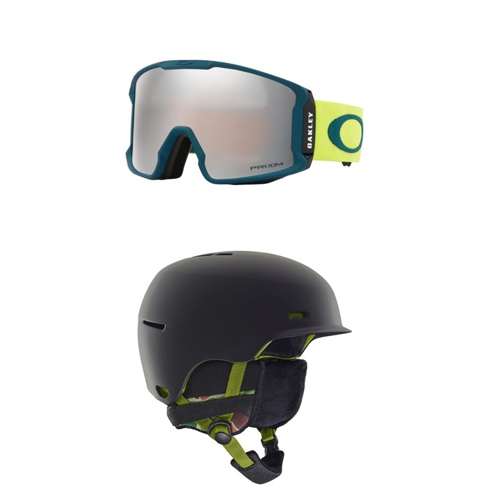Oakley - Line Miner Goggles + Anon Highwire Helmet