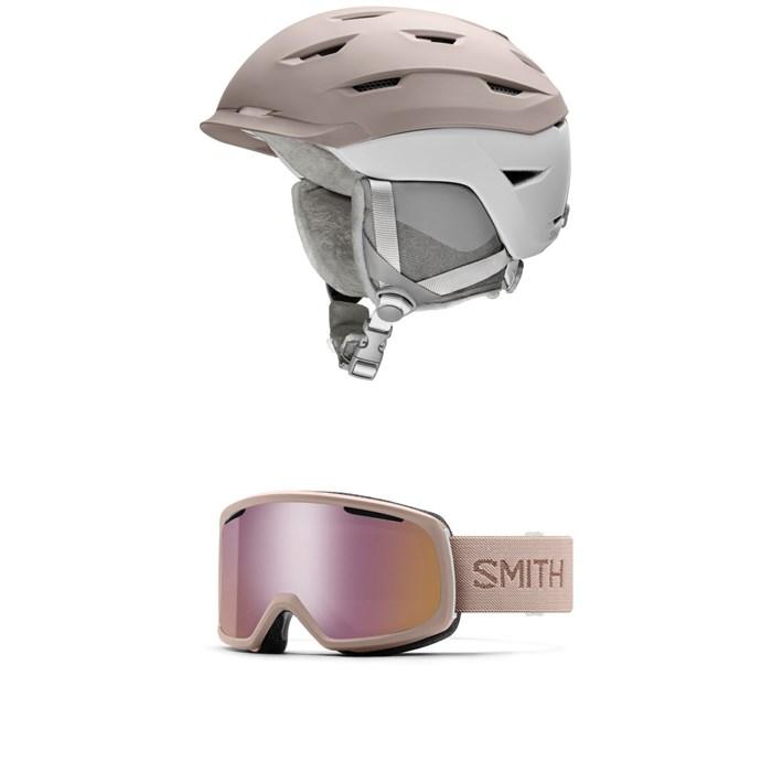 Smith - Liberty MIPS Helmet - Women's + Smith Riot Goggles - Women's