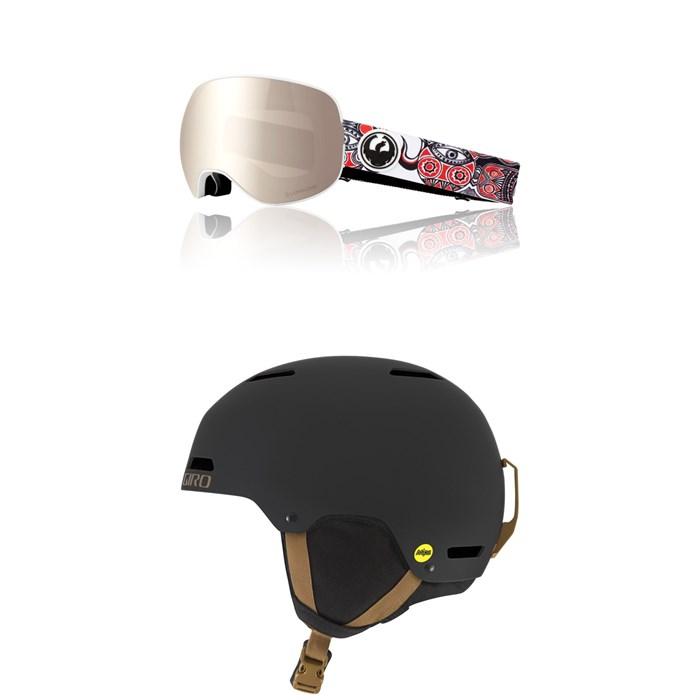 Dragon - X2 Goggles + Giro Ledge MIPS Helmet