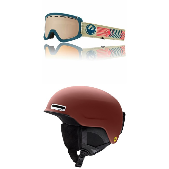 Dragon - D1 OTG Goggles + Smith Maze MIPS Helmet