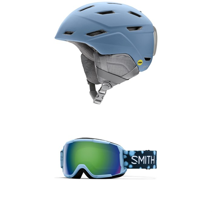 Smith - Prospect Jr. MIPS Helmet - Kids' + Smith Grom Goggles - Big Kids'