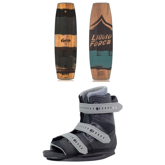 Liquid Force - Verse Wakeboard + Slingshot Option Bindings 2019