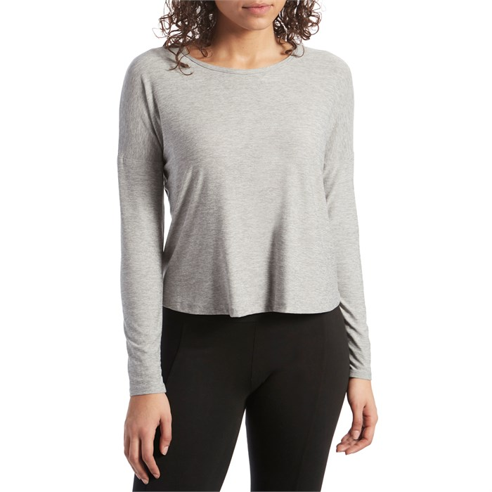 Beyond Yoga - Morning Lightweight Cropped Pullover - Women's