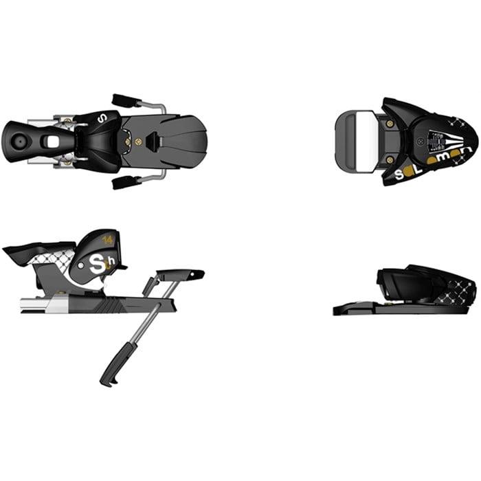 Salomon STH 14 (130mm Brake) Ski Bindings 2009