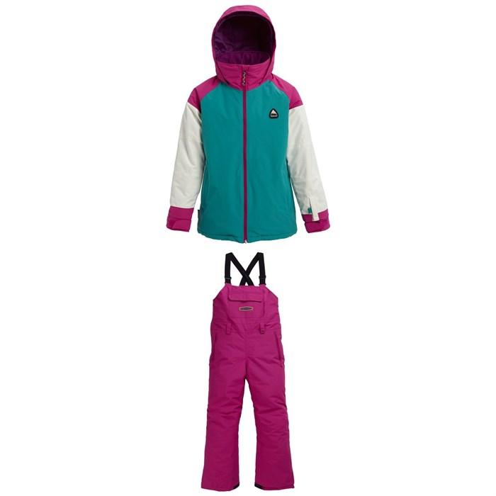 Burton - Hart Jacket + Burton Skylar Bibs - Kids'