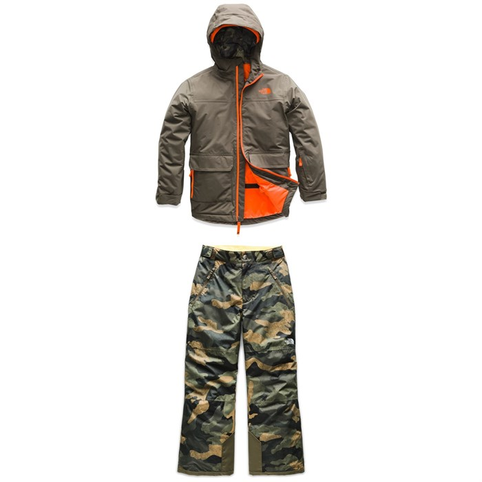 The North Face - Freedom Jacket + The North Face Freedom Insulated Pants - Boys'