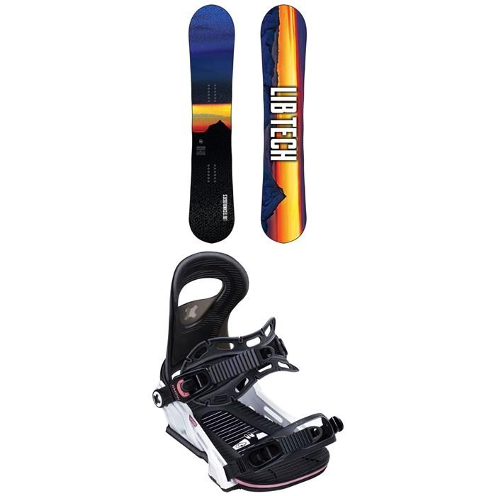 Lib Tech - Cortado C2 Snowboard + Bent Metal Upshot Snowboard Bindings - Women's 2020