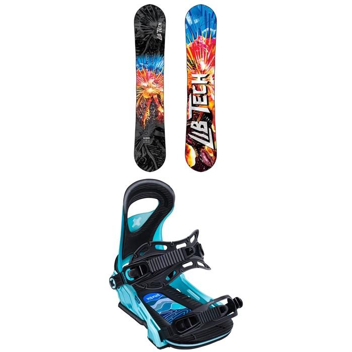 Lib Tech - Glider BTX Snowboard + Bent Metal Upshot Snowboard Bindings - Women's 2020