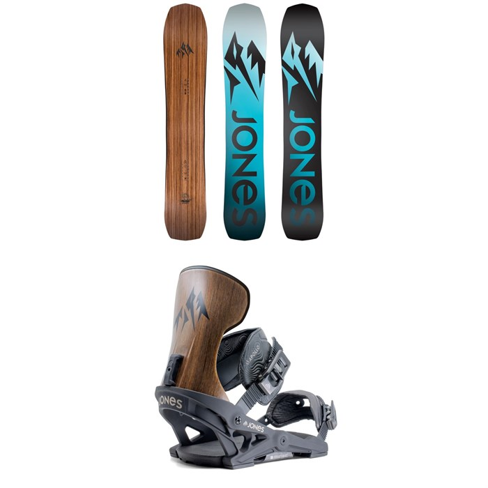 Jones - Flagship Snowboard + Jones Apollo Snowboard Bindings 2020