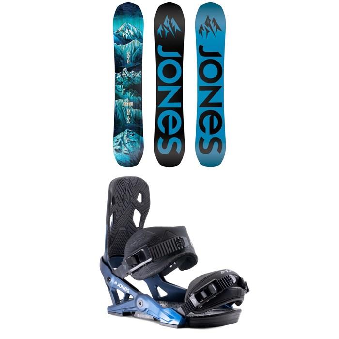 Jones - Frontier Snowboard 2020 + Jones Mercury Snowboard Bindings 2020