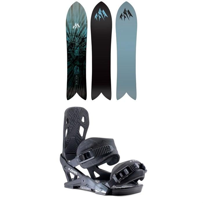Jones - Storm Chaser Snowboard + Jones Mercury Snowboard Bindings 2020