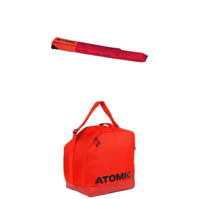 Atomic - RS Double Ski Wheelie Bag + Atomic Boot & Helmet Bag