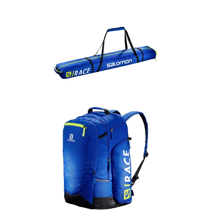 Salomon - Extend Double Pair Ski Bag + Salomon Extend Go-To-Snow Gear Bag
