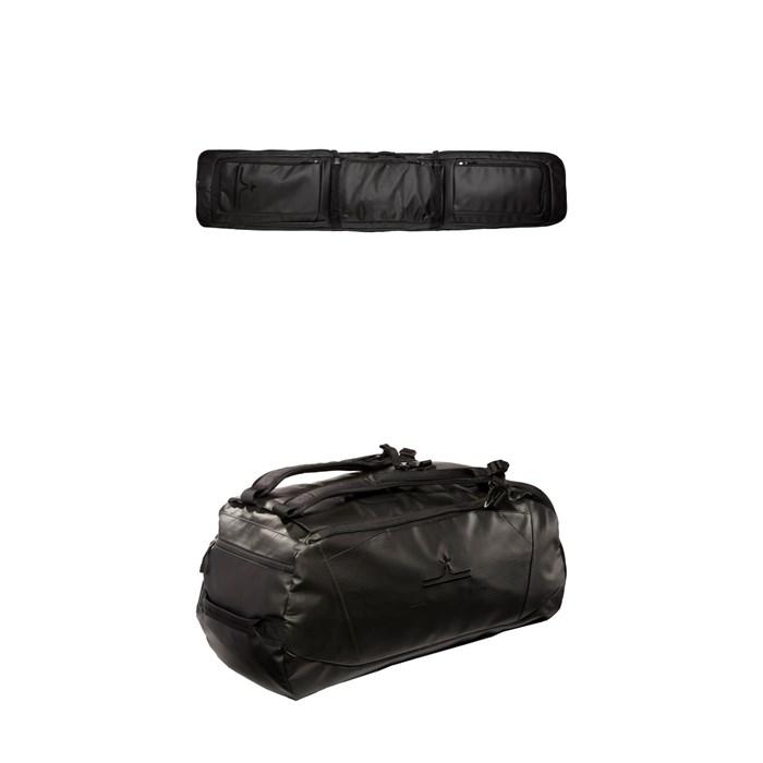 evo - Deluxe Roller Ski/Snowboard Bag + evo Deluxe 65L Duffel