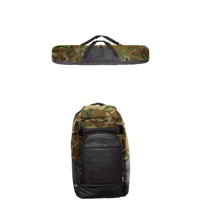evo - Padded Snowboard Bag + evo Boot Pack