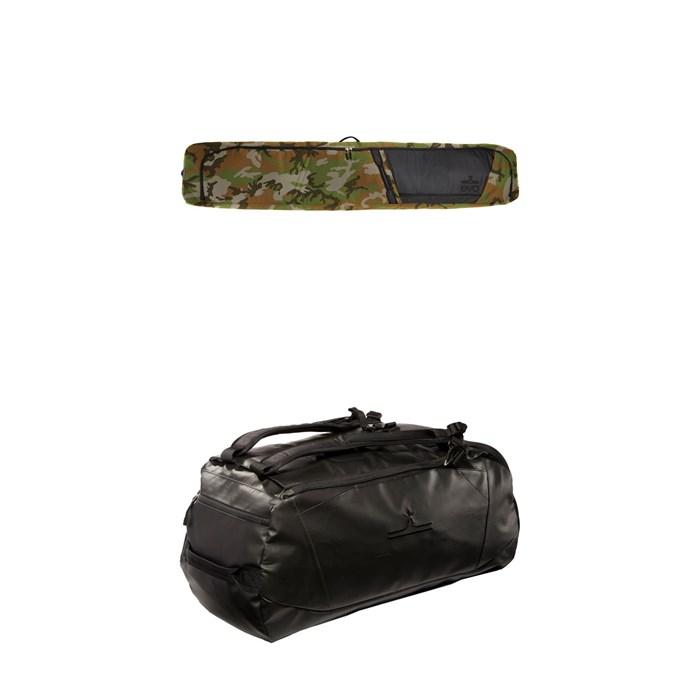 evo - Roller Ski Bag + evo Deluxe 65L Duffel