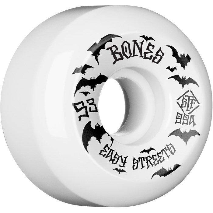 Bones - Bats Easy Streets STF 99A V5 Skateboard Wheels