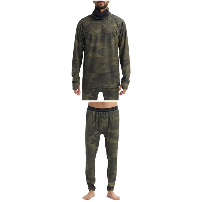 Burton - Midweight Long Neck Top + Pants