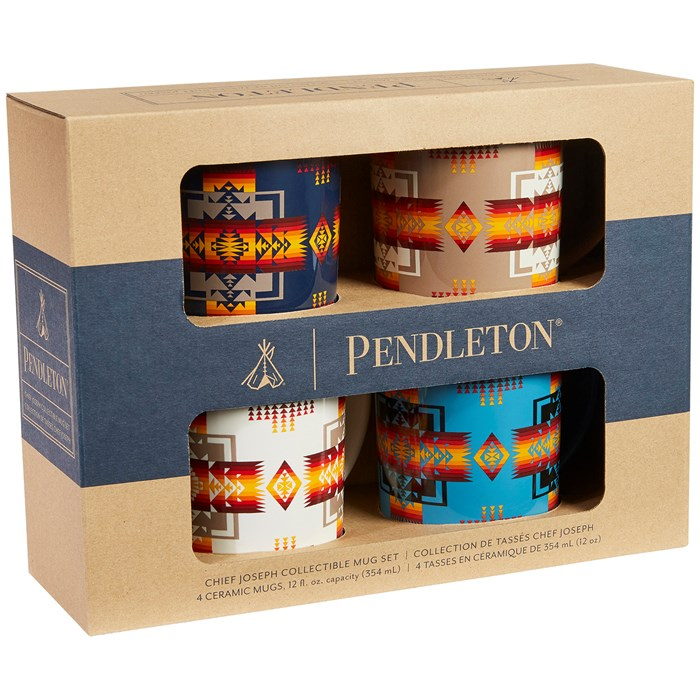 Pendleton - Chief Joseph Ceramic Mugs - Set of 4