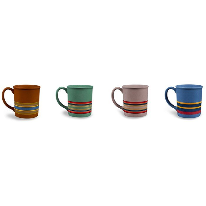 Pendleton - Ceramic Mugs - Set of 4