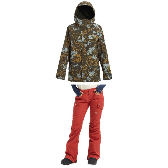 Burton - Runestone Jacket + Burton Gloria Pants - Women's