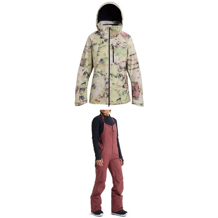 Burton - AK 2L GORE-TEX Embark Jacket + AK 2L GORE-TEX Kimmy Bib Pants - Women's