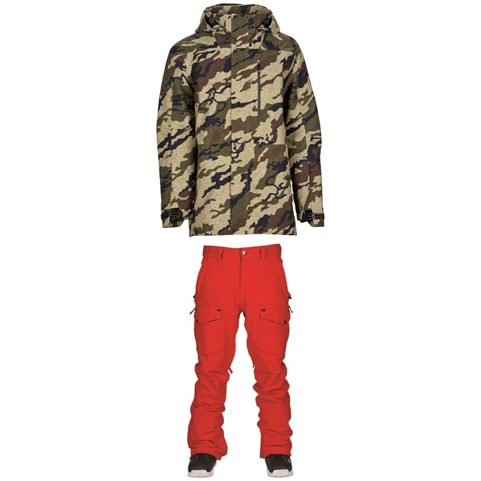 Bonfire - Aspect 3L Jacket + Zone Pants