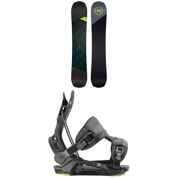 Nidecker - Merc Snowboard + Flow Fenix Snowboard Bindings 2020