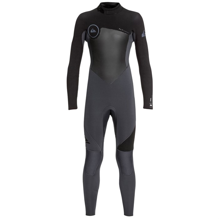 Quiksilver - 4/3 Syncro Back Zip GBS Wetsuit - Boys'