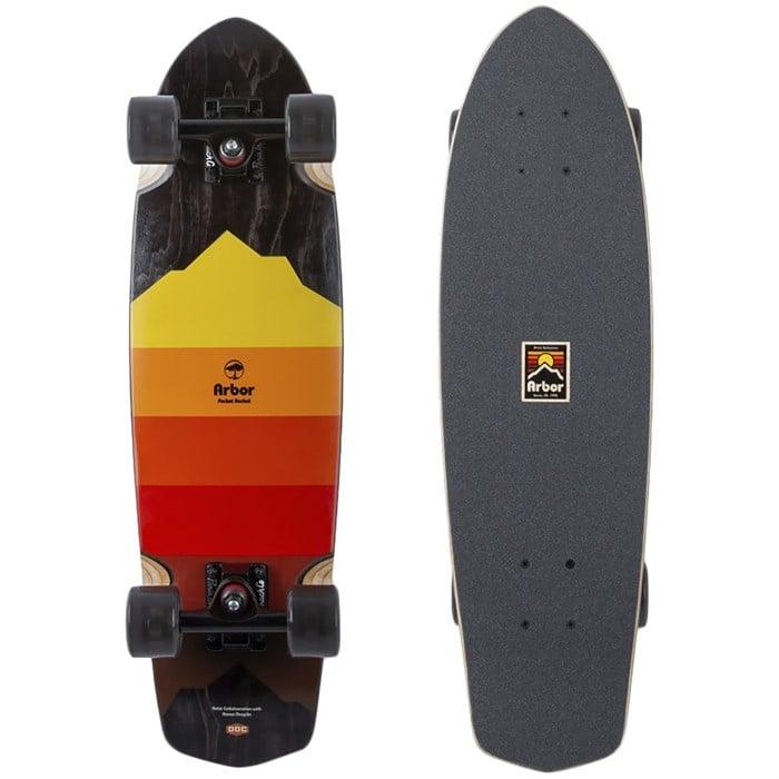 Arbor - Pocket Rocket Artist Cruiser Skateboard Complete