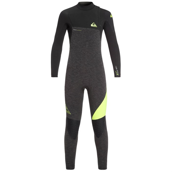 Quiksilver - 4/3 Highline Zipperless GBS Wetsuit - Boys'
