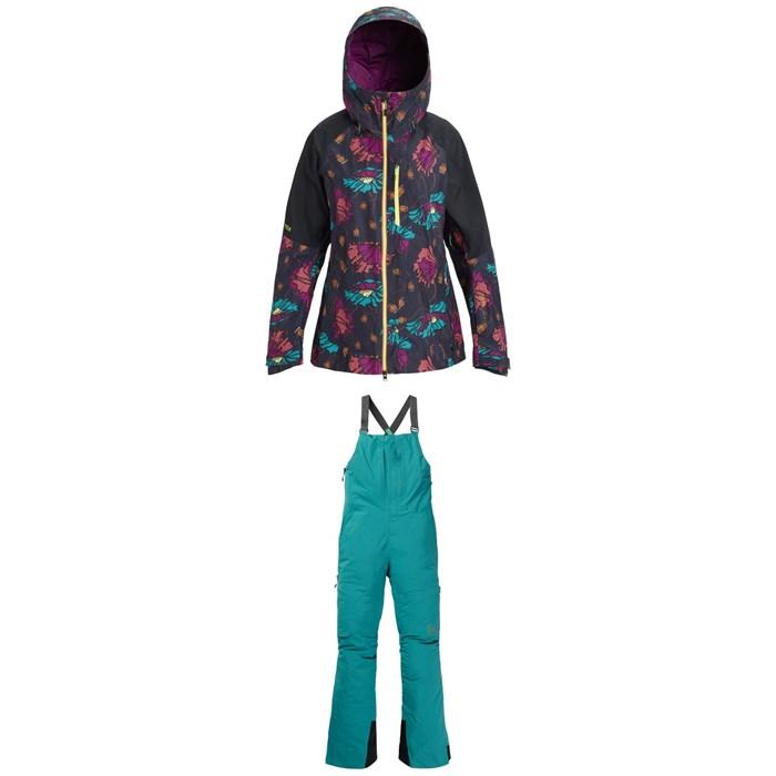 Burton - AK 2L GORE-TEX Upshift Jacket + Burton AK 2L GORE-TEX Kimmy Bib Pants - Women's