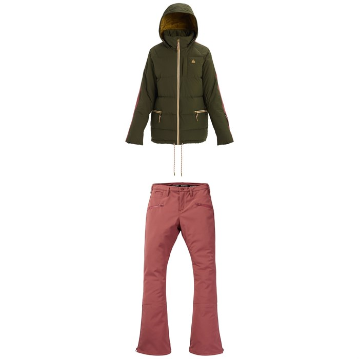Burton - Keelan Jacket + Burton Ivy Over-Boot Pants - Women's
