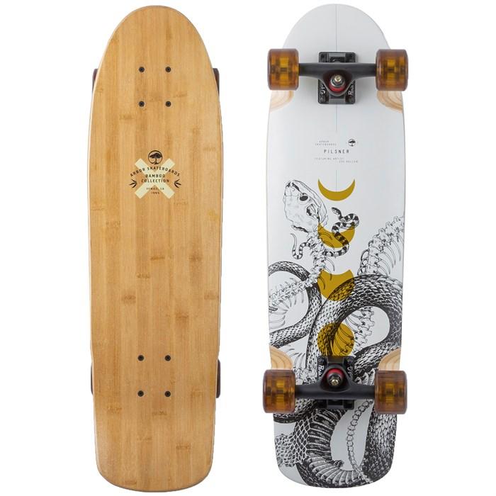 Arbor - Pilsner Bamboo Cruiser Skateboard Complete