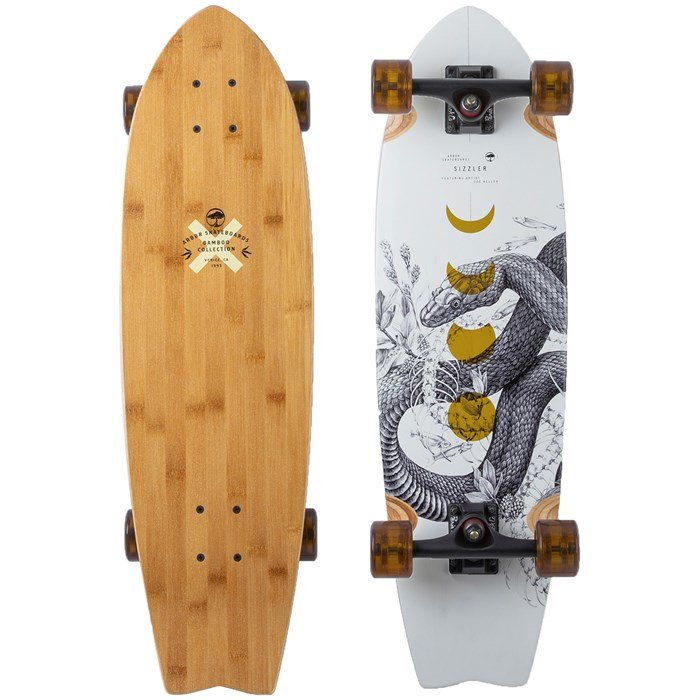 Arbor - Sizzler Bamboo Longboard Complete