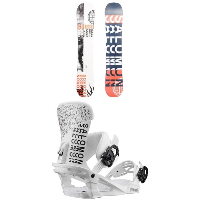 Salomon - Sleepwalker X Snowboard + Salomon Trigger Snowboard Bindings 2020