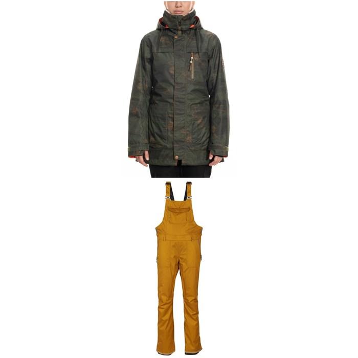 686 - Spirit Insulated Jacket + 686 Black Magic Insulated Bibs - Women's
