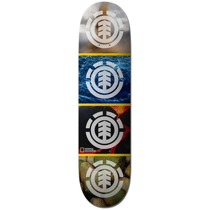 Element - Nat Geo Quadrant 8.0 Skateboard Deck
