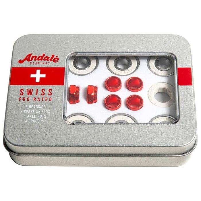 Andale - Swiss Tin Box Kit Skateboard Bearings