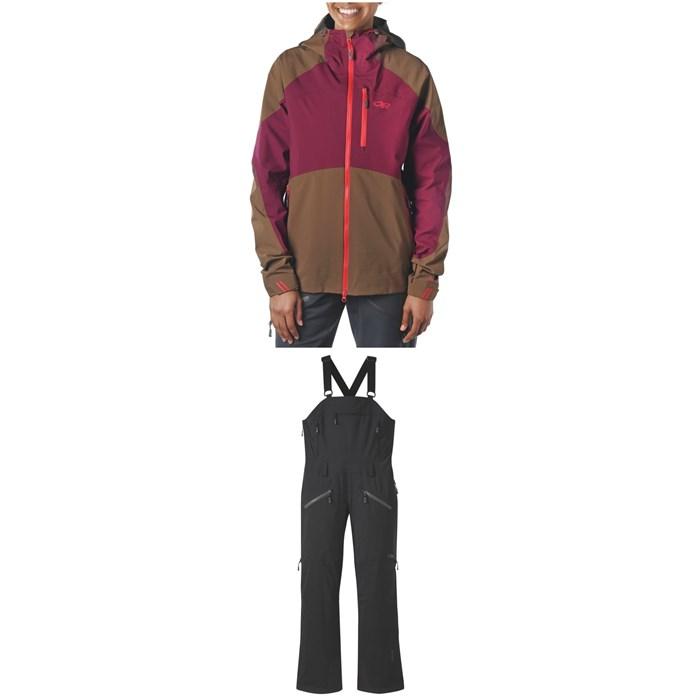 Outdoor Research - Hemispheres Jacket + Outdoor Research Hemisphere Bibs - Women's