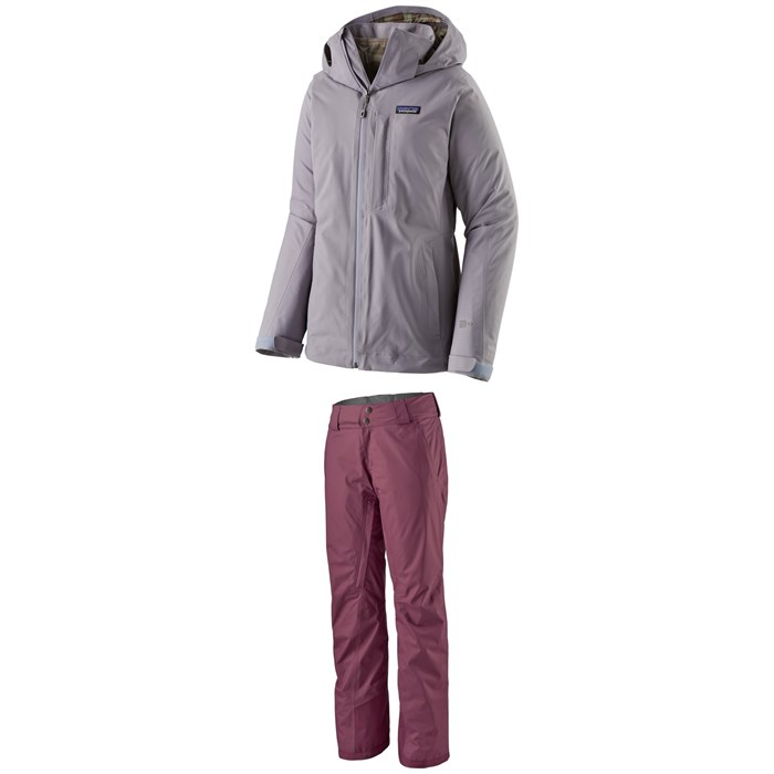 Patagonia - 3-in-1 Snowbelle Jacket + Patagonia Insulated Snowbelle Pants - Women's