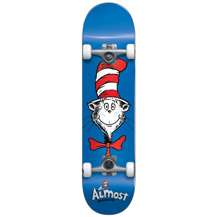 Almost - Cat Face FP 7.875 Skateboard Complete