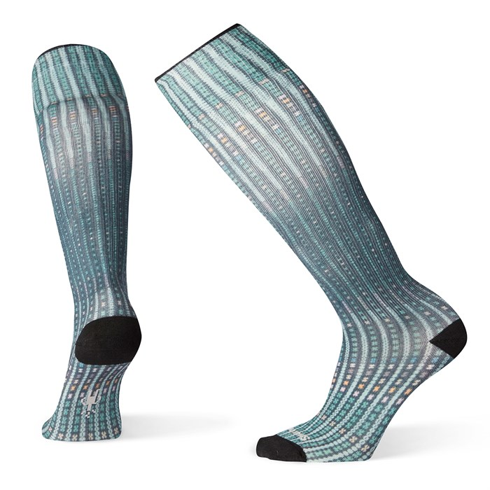 Smartwool - Compression Virtual Voyager Print OTC Socks - Women's