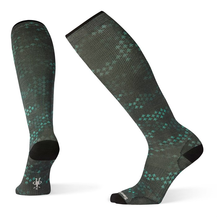Smartwool - Compression Making Tracks Print OTC Socks