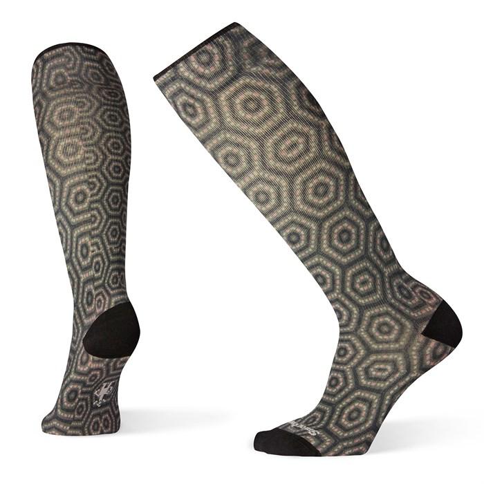 Smartwool - Compression Hexa-Jet Print OTC Socks - Women's